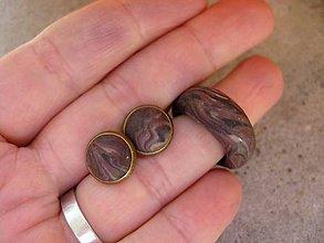 Sady šperkov - Sada s dreveným nádychom č.585 - 7280716_