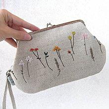 Kabelky - Kabelka Lúčne kvety - 7280341_