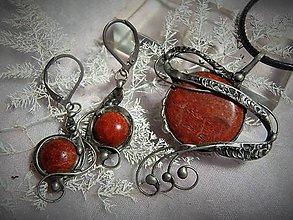 Sady šperkov - korál... - 7279787_