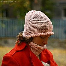 f387348e4 BLUE DROP Chunky pletená čiapka / NatureLove - SAShE.sk - Handmade ...