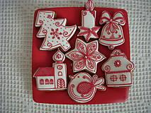 Dekorácie - sada vianočných mdovníkov l - 7285704_