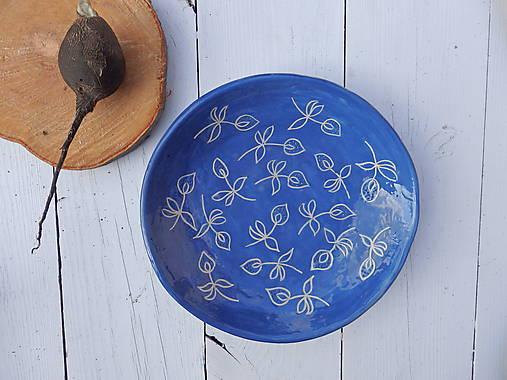 Nádoby - Keramická miska modrotlačová III - 7286742_