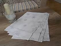 Úžitkový textil - vianočné prestieranie  4 ks - 7285679_