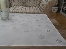Úžitkový textil - vianočný obrus 70x70 cm - 7285990_