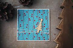 - Vianočná scrapbook pohľadnica - 7284817_