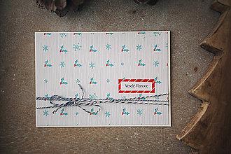 Papiernictvo - Veselé Vianoce pohľadnica - 7284865_