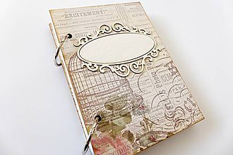 Papiernictvo - zápisník béžový - 7284068_