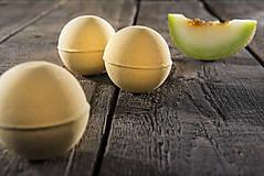 Drogéria - Šumivá bomba do kúpeľa - žltý melón - 7287660_