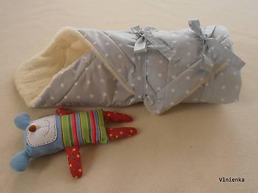 Zavinovačka pre bábätka/ miminká 100% Merino Top