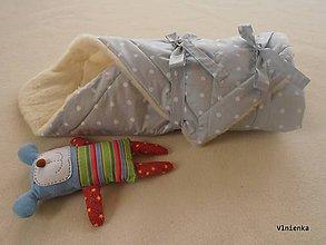 Textil - Zavinovačka pre bábätka/ miminká 100% Merino Top - 7287072_