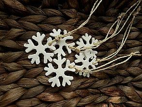 Dekorácie - Vianočné ozdoby 5 ks - 7285150_