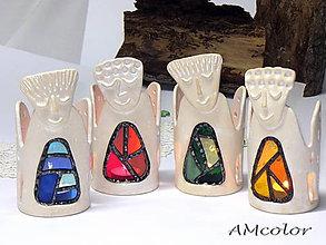 Svietidlá a sviečky - Svietiaci anjel - 7286489_