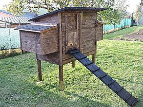 Pre zvieratká - Kurín z masívneho dreva - 7287153_