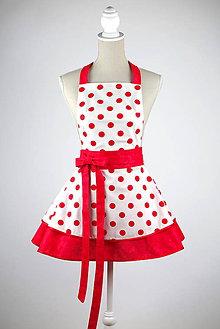 Iné oblečenie - Šatová kuchynká zástera Chic Madonna - 7286869_