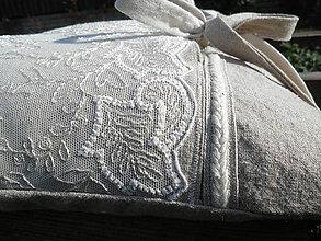 Úžitkový textil - Vintage polštář Victorian - 7285346_