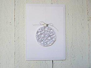 Papiernictvo - vianočná pohľadnica - 7284217_