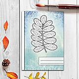 - Zápisníky Farebná jeseň ((abstraktný) - list 1) - 7284091_