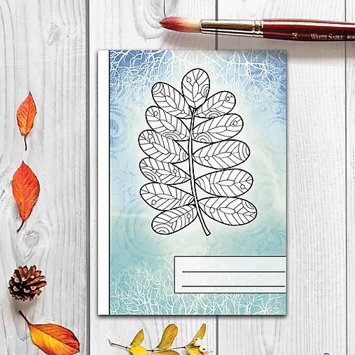 Zápisníky Farebná jeseň ((abstraktný) - list 1)