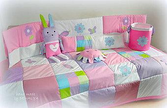 Textil - 5 dielna sada DETSKÁ IZBA Pastel kolekcia - 7288586_