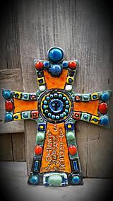 Dekorácie - Byzantský kríž - 7290589_