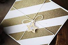 Papiernictvo - Vianočná scrapbook pohľadnica - 7290420_