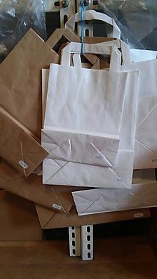 Obalový materiál - Taška papierová 50ks - 32x17x27 - 7289063_