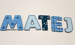 MATEJKO - drevené písmenko