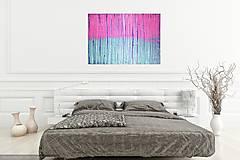 Obrazy - Purple rain- veľký obraz - 7288013_
