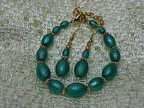 Sady šperkov - Set Náramok + náušnice - 7292776_