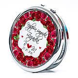 Zrkadielko pre švagrinú - motív ruží