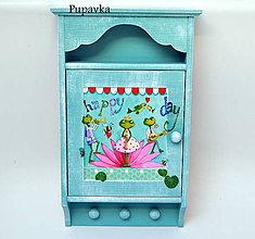 Krabičky - Skrinka na kľúče - 7292019_