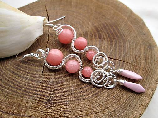 ružový jadeit