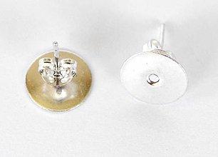 Komponenty - Puzety, 10 mm, 10 párov s kovovými motýlikmi /P10mp/ - 7288201_