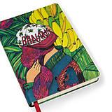 Papiernictvo - Zápisník A6 Banana Garden - 7288963_