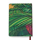 Papiernictvo - Zápisník A6 Banana Garden - 7288964_