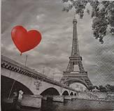 """Papier - Servítka """"City of love"""" - 7288437_"""