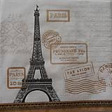 "Papier - Servítka "" Paris Rendezvous white"" - 7288542_"