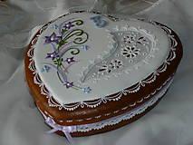 Dekorácie - Medovníková kazeta - 7297674_