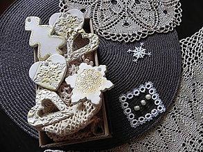 Dekorácie - Vianočná sada - čas vianočný - 7296724_