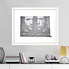 Kresby - Línie - The Night Manager v ráme (originál) - 7296753_