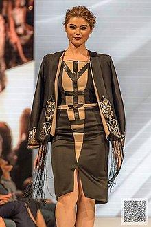 Šaty - art deco šaty/skladom - 7297570_