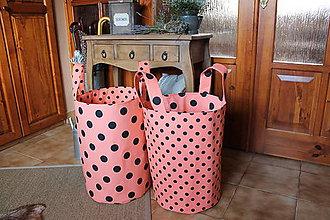 Úžitkový textil - box, úložný vak, kôš - 7295550_