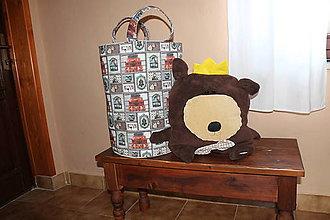 Úžitkový textil - Vak, odkladací box, kôš - 7295624_