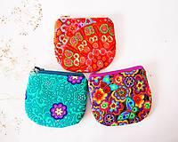 Peňaženky - Peňaženka - oranžová - 7294164_