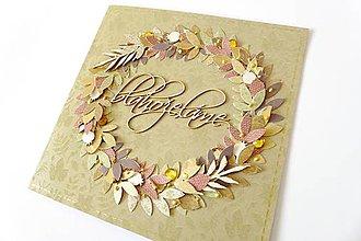 Papiernictvo - pohľadnica jesenná - 7294114_