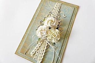 Papiernictvo - pohľadnica vo vintage štýle - 7294187_