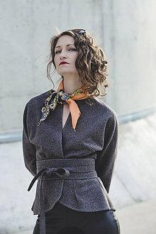 Kabáty - SOFIA - vlněné sako - 7294413_