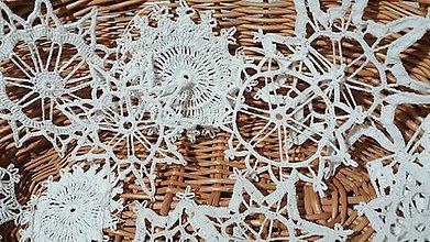 Dekorácie - snehové vločky - 7297010_