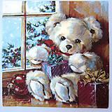 - Servítka Z11- Vianočné darčeky - 7297370_