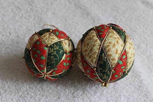 12d210cad Vianočné patchworkové gule / anikad - SAShE.sk - Handmade Dekorácie